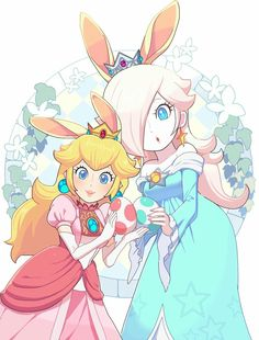Peach and Rosalina Super Mario Brothers, Super Mario Bros, Super Mario Kunst, Super Smash Bros, Super Mario Princess, Nintendo Princess, Hama Beads Minecraft, Perler Beads, Character Design References
