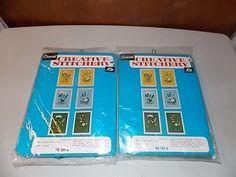 Vintage Crewel Stitchery Kit Set Queen Anns Lace and by BathoryZ, $24.00