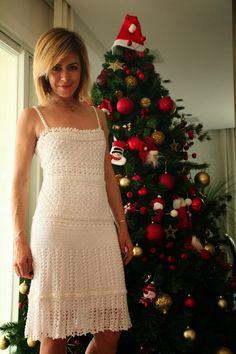 Crochetemoda: Giovana Dias - Vestidos de Crochet