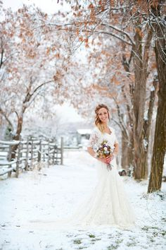 Kylee + Riley: A Romantic Winter Wedding Portrait Session by AK Studio & Design | Limn & Lovely | Daily Wedding Inspiration