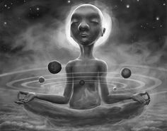 Zen, Balance Art, Universe Art, Galaxy Universe, Pranayama, Spiritual Inspiration, Inspiration Quotes, Yoga Meditation, Trippy