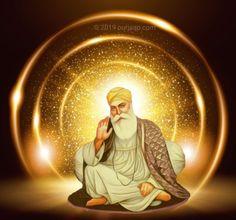 Guru Nanak Photo, Guru Nanak Ji, Nanak Dev Ji, Baba Deep Singh Ji, Sikh Quotes, Gurbani Quotes, Guru Nanak Wallpaper, Shri Guru Granth Sahib, Guru Pics