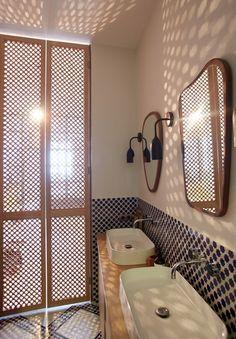 Salle de bain ( suite parentale)- Appartement Parisien de 320m2- GCG Architectes
