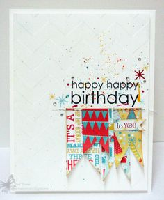 What a fun card! I think I will go and make some similar ones right now!