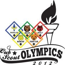 cub scout olympic pack meeting on weekend?