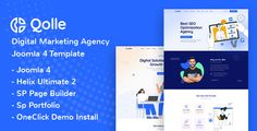 Qolle - Digital Marketing Agency Joomla 4 Template ⠀ Qolle is Modern Digital Marketing Agency Joomla 4 Template perfectly suitable for the marketing agency, digital studio, SEO, agency, consulting, start-up and related any business website. It has a ... ⠀ # #cmsthemes #digitalagency #digitalstudio #joomla #joomla4 #joomla4 #pagebuilder #payothemes #seo #startup #strategy #themeforest #business #consulting #corporate #creative #marketing #event The Marketing, Digital Marketing, Pricing Table, Joomla Templates, Blog Layout, Seo Agency, Create Website, Business Website, Website Template