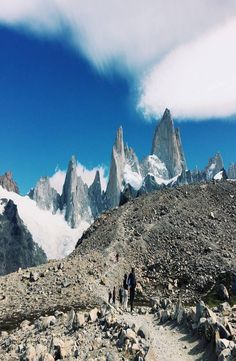 """El Chalten nicknamed """"The Trekking Capital of Argentina"""" and it is also a gateway to see the famous Mount Fitz Roy. Depending on how much trekking you want Cheap Web Hosting, Backpacking, Mountains, Travel, Beautiful, Backpacker, Viajes, Destinations, Traveling"""