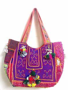 4e70e7ce4207 Indian Vintage banjara bag boho gypsy tribal extra large tote exclusive  unique  Handmade  Hobo