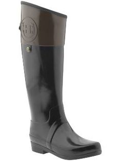 Hunter has upped their game... squint and they could be by Tory Burch...welll...