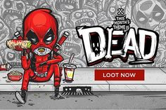 February's Loot Crate May Feature Another Deadpool Exclusive POP!  #funko #funkocollectors #pop #popcollectors #deadpoool #lootcrate #marvel #FLYGUY #twitter #googleplus