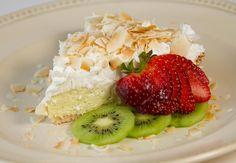Coconut Cream Pie (low-carb / sugar-free / grain-free) / @DJ Foodie / DJFoodie.com