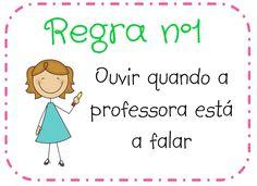 Professora Raquiele Turra: REGRAS DE CONVIVÊNCIA NA SALA DE AULA