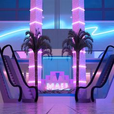 -p a r a d i s e m a l l- : VaporwaveAesthetics Aesthetic Space, Purple Aesthetic, Retro Aesthetic, Aesthetic Backgrounds, Aesthetic Iphone Wallpaper, Aesthetic Wallpapers, Dead Malls, Vaporwave Wallpaper, New Retro Wave