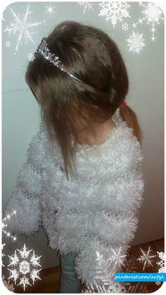 Christmas white weiß Bolero häkeln болеро крючком