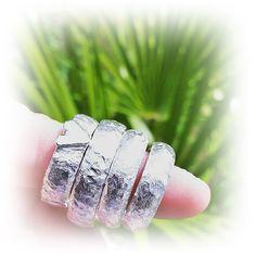 AMOR CUPIDO och IDUN handgjorda silverringar design och arbete av Kenneth Lindström ALVdesign.se