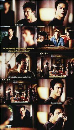 Damon will be damon
