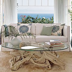 Decorating with Beach Finds   Driftwood Dreamy   CoastalLiving.com