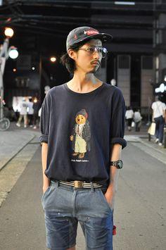 ストリートスナップ [FK] | Ralph Lauren, Supreme | 大阪 | 2012年07月18日 | Fashionsnap.com