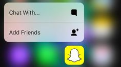 Snapchat has new features including slo-mo and rewind filters for video, plus Force Touch for iPhone 6S and 6S Plus