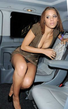 Rochelle Wiseman Celebrity Upskirt