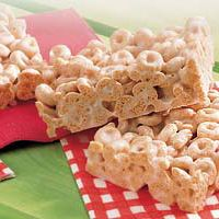 Cheerios & Marshmallow bars - Even more flavor with the other varieties of cheerios