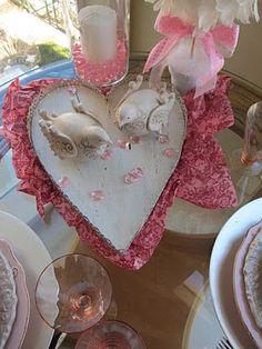 Valentine's centerpiece
