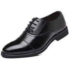 01 Homme Angleterre classique bureau d/'affaires Chaussures Compensés à bout pointu Lacets Flats automne