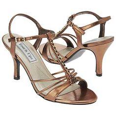 Touch Ups by Benjamin Walk Anneka Shoes (Bronze Metallic) - Women's Wedding Shoes - 7.0 W