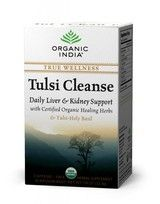 Tulsi Cleanse Daily liveer and kidney support