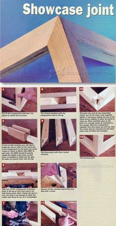 Showcase Joint - Joinery Tips, Jigs and Techniques | WoodArchivist.com