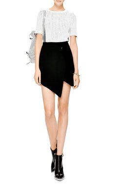 Isla Snap Crepe Skirt by Opening Ceremony - Moda Operandi