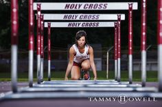 Louisville Track Hurdles Senior Portraits (1)