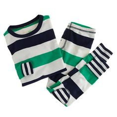 Boys' rugby-stripe sleep set - sleepwear - Boy's new arrivals - J.Crew