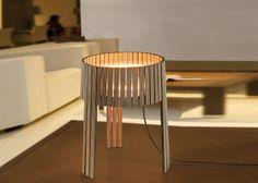 Fabulous holzlampe desogner lampe lampen design design lampen kegel stehlampe