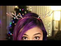 ▶ Deer Antler Headband ♥ DIY - YouTube