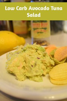 low carb avocado tuna salad recipe