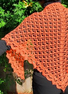 Beautiful free crochet shawl pattern