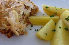 Koložvárska kapustička Russian Recipes, Potato Salad, Recipies, Dairy, Potatoes, Latte, Cheese, Vegetables, Ethnic Recipes
