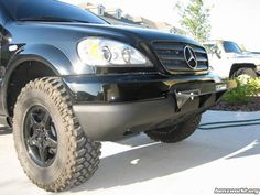 Mercedes ml w163 orc lift kit h r 1 wheel spacers all for Mercedes benz ml320 tires