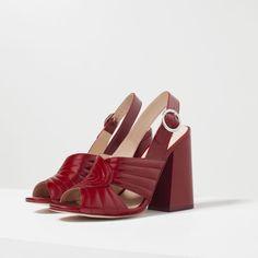 ENJOY THE RIDE - Sandálias Zara 1
