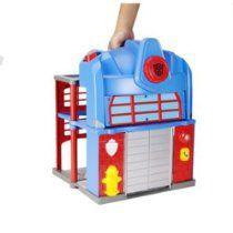 Rescue Optimus Prime Fire Station