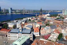 Lettland Riga – Die schönsten Sehenswürdigkeiten, Jugendstilhäuser in Riga, Schlösser und Burgen, Ausflug nach Majori + Nationalpark Gauja mit Turaida