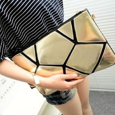 2014 Fashion women chain clutch bags envelope purse Shoulder Clutch Evening Bag with elegant PU Leather Free Neon Clutch, White Clutch, Purses And Handbags, Leather Handbags, Cheap Bags, Small Shoulder Bag, Beautiful Bags, Small Bags, Evening Bags