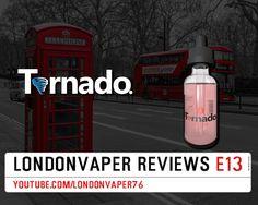 Vape Dinner Lady Tornado - Twister E-Liquid Review