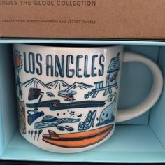Starbucks Los Angeles Coffee Mug Been There Beach Film Surf New Starbucks Halloween, Disney Starbucks, Starbucks Mugs, Coffee Drinks, Coffee Cups, Coffee Beans, Coffee Latte, Contemporary Mugs, Coffee To Water Ratio