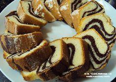 Bizcocho cebra | Cocinar en casa es facilisimo.com