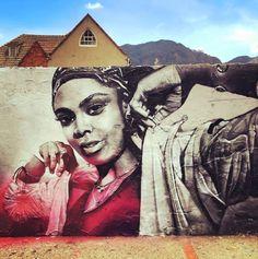 New Street Art by Dexs found in Bogota Colombia   #art #graffiti #mural…