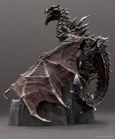 "Skyrim dragons | Skyrim Collector's Edition ""Dragon"" screenshots"