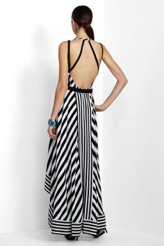 I'll never tire of black and white stripes