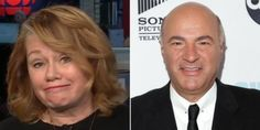 Fellow 'Dragon' Isn't Exactly Supporting Kevin O'Leary's Tory Run Arlene Dickinson, Kevin O'leary, Leadership, Dragon, Running, Racing, Keep Running, Dragons, Track